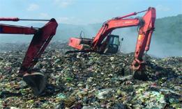 بهسازی مرکز دفن زباله