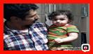 نجات کودک یکساله محبوس شده در اتاق خواب/آتش نشانی رشت
