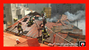 سقف خانه ویلایی، طعمه شعله های آتش شد