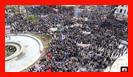 حضور آتش نشانان در راهپیمایی 13 آبان/ به روایت تصویر