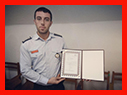 دریافت حکم برنز آسیا از فدراسیون کوهنوردی توسط آتش نشان شهر باران /آتش نشانی رشت