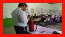 آموزش ایمنی و آتش نشانی به کودکان مهد جاویدان و دانش آموزان شهدای کفترود/آتش نشانی رشت