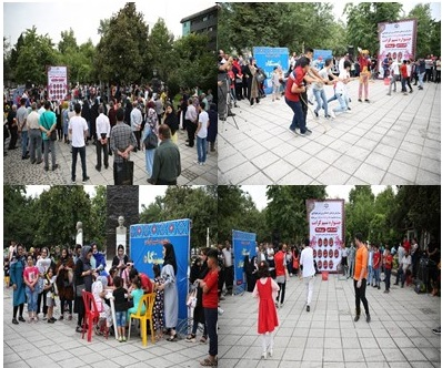 پنجمین و ششمین  برنامه ی جشنواره ی نسیم کرامت که به همت سازمان فرهنگی،اجتماعی و ورزشی شهرداری رشت درمجموعه پارک های سبزه میدان و بوستان ملت به روایت تصویر