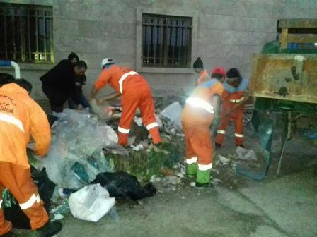 گزارش تصویری حوزه مدیریت خدمات شهری از هفته سی و سه طرح پاکسازی هفتگی محلات شهر رشت